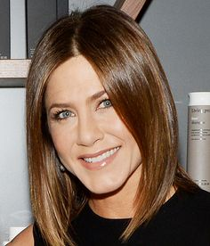 "Jennifer Aniston on Her Newly Dyed Brunette Locks: ""It's Good to Be Back!"""