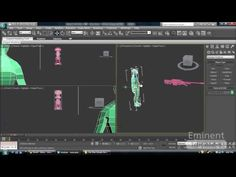 3ds Max Tutorial - Import and Merge files into your Scene