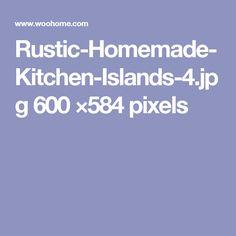 Rustic-Homemade-Kitchen-Islands-4.jpg 600 ×584 pixels
