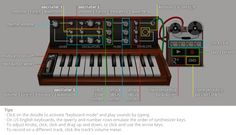 """Il Google Doodle """"suonabile"""" dedicato al 78° compleanno di Robert Moog. Una vera e propria droga! Si può suonare anche con i tasti del computer!"""