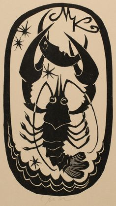 Bookplate (or ex libris) by Ladislav Rusek.