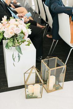 Geometric lanterns. CCL Weddings. Photography: Ruth Eileen Photography - rutheileenphotography.com