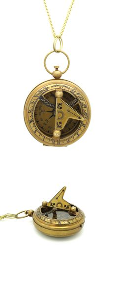 Sundial Watch Necklace