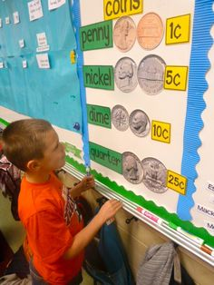 Tunstall's Teaching Tidbits: money reference wall