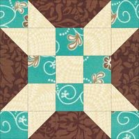 """farmer's daughter quilt pattern   Farmer's Daughter Quilt Block: 5"""", 7-1/2"""", 10"""" finished"""