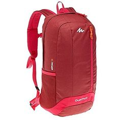 Quechua Arpenaz Outdoor Backpack Daypack Hiking Daypacks BackPack 20 L (bordeaux)