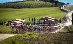 racing across tuscany