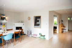 A Clean & Colorful Oslo Townhome