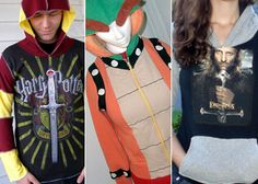 Roundup of Geeky DIY hoodies