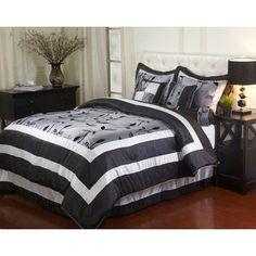 Pastora 7-Piece Bedding Comforter Set - Walmart.com