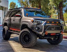 Lifted 4runner, 4runner Off Road, Toyota 4runner Trd, Toyota Tacoma, Truck Camping, Jeep Truck, Chevy Trucks, Toyota Trucks, Toyota Cars