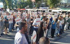 bandırma CHP'den 2 dakikalık eyleme devam-bandırma ekspress-bandırma CHP-ilçe başkanı atilla atakay-adalet yürüyüşüne destek-CHP.