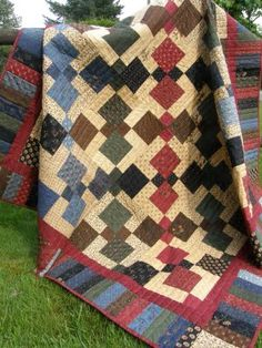QuiltNut Creations: disappearing 9 patch blocks quilt