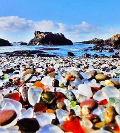 #pedras #cores #mar