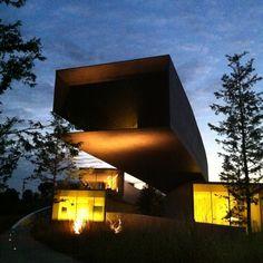 これが噂の30m片持ちスラブ。 #ホキ美術館 #hokimuseum #architecture #museum