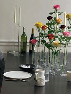 easy way to make it look like you have a ton of roses
