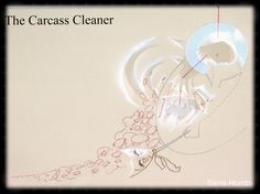 Carcass Cleaner illustration by Sarra Hornby