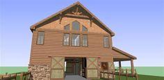 barn loft living - Google Search
