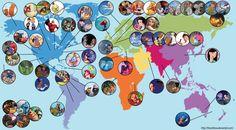 Mapa de Disney completo