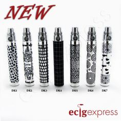 Good looking and only $14.99 ECig Express rolls out designer eGo batteries!