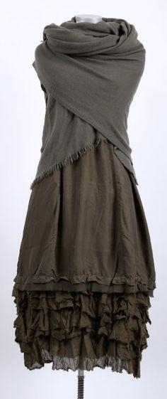 cocon commerz privatsachen - Trägerkleid aus Wäscheseide hopfen - Sommer 2015 - stilecht - mode für frauen mit format...