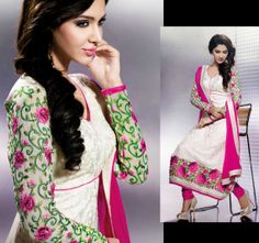 Indian Bollywood Designer salwar Kameez Anarkali by Lootvila, $79.99
