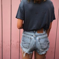 Soon to cut my Levi's into shorts