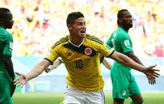 James Rodríguez shines for Colombia in the World Cup James Rodriguez, World Cup Games, Fifa 2014 World Cup, European Cup, Best Player, Sports News, Superstar, Fun Facts, Soccer