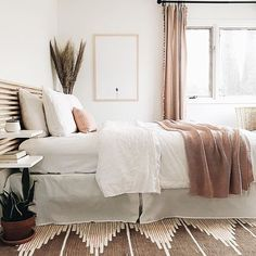 Home Decor Scandinavian .Home Decor Scandinavian Home Bedroom, Modern Bedroom, Bedroom Decor, Bedroom Ideas, Minimal Bedroom, Teen Bedroom, West Elm Bedroom, Bedroom Furniture, West Elm Bedding