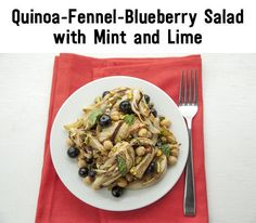 Quinoa-Fennel-Blueberry Salad with Mint and Lime | 34 Clean Eating Recipes You'll Actually Want To Eat
