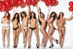 Lucy Pinder, Rosie Jones, Holly Peers and Pals Topless for Nuts Issue Rosie Jones, Holly Peers, Joey Fisher, India Reynolds, Blog Images, Sensual, Hot Girls, Boobs, At Least