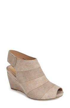 0709b3a3014c Earthies®  Manza  Nubuck Wedge Sandal (Women)
