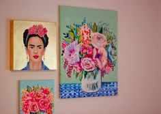 Fill your wall with pieces you love! Esty Finds!