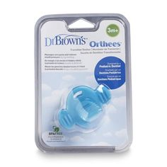 I'm learning all about Handi Craft Dr. Brown's Orthees Transition Teether Pacifier at @Influenster!