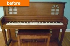 Before & After: The Red Piano — Inside Out