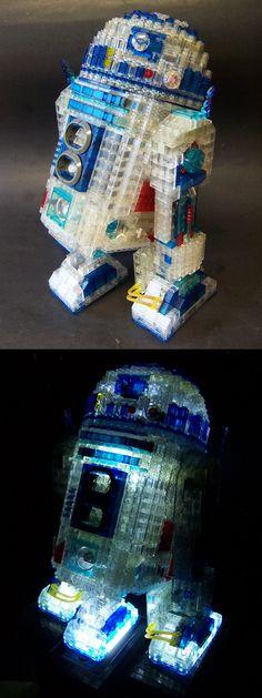R2-Poop-2 - Transclear artoo unit.
