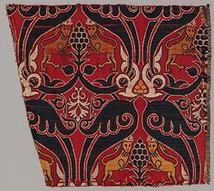 Date: late 15th century Geography: Made in, probably Granada, Spain Medium: Silk, lampas weave