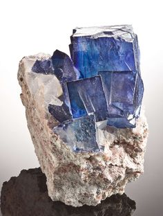 Blue Halite. Opener of metaphysical gates. Heightens intuition and notice of the mystical. Reworks distorted vision of reality. Absorbs negative energies and may be used against other's jealousy, smothering feelings, harmful lust, energy stealing, those under the effects of drinking or drugs, etc.  Needs cleaned often. Best to use dry methods of clearing this stone. Helpful in Iodine absorption and for the thymus, thalamus and thyroid. Releases impurities and wrong thoughts within self. ****...