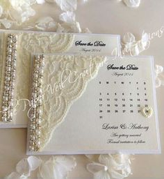 Glitz and Glamour Vintage Lace Collection Couture Save the