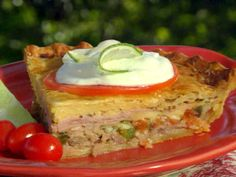 Guy Fieri's Cuban Pie alla Munee from FoodNetwork.com