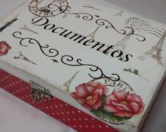Caixa Porta Documentos