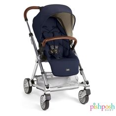 Presenting the lightweight and compact Urbo2 stroller by Mamas & Papas USA! This versatile stroller is perfect for parents on the go, and is ready for use from birth with a full recline - and even has optional bassinet for overnight sleeping! Available in 4 colors - camel and navy (shown) also have a gorgeous leather detail on the handle and belly bars! http://www.pishposhbaby.com/mamas-papas-urbo2-stroller.html