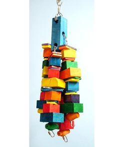 Fun-Max Big J Bird Toy - All Parrot Products
