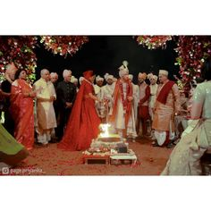 Christian Wedding Ceremony, Hindu Wedding Ceremony, Team Groom, Team Bride, Sabyasachi Lehenga Cost, Priyanka Chopra Wedding, Nick Jonas, Bridesmaid Dresses, Wedding Dresses