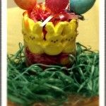 Decorating with Peeps : $5 Easter Centerpiece