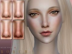 my first nose for female and male 12 colors HQ I hope you like it Found in TSR Category 'Sims 4 Female Skin Details' Source: Bobur Nose 01 Sims 4 Mods, Sims 3, Best Sims, Sims Four, Maxis, The Sims 4 Skin, Sims 4 Anime, Sims 4 Cc Eyes, The Sims 4 Packs