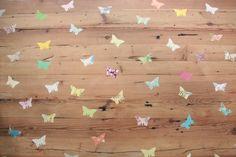 Vlinders... onder je Tafelziel.