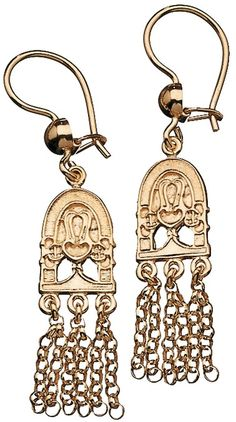 Hämäläinen juhlakääty -korvakorut/Kalevala Koru Iron Steel, Steel Metal, Drop Earrings, Personalized Items, Beads, Bracelets, Gold, Jewelry, Ethnic