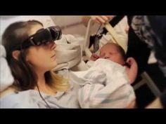 Milagro tecno: una mujer ciega pudo ver a su bebé gracias a gafas electrónicas