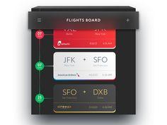 Flights Board